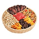 4 lb | BIG Crowd Pleaser Dried Fruit & Nuts Gift Tray