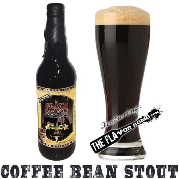Coffee Bean Stout by Grand Canyon Brewing - 22 oz